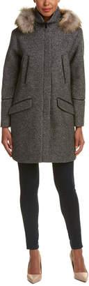 Soia & Kyo Alanna Classic Wool-Blend Coat