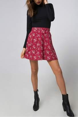 Motel Rocks Floral Mini Skirt