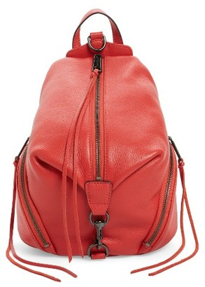 Rebecca Minkoff 'Medium Julian' Backpack - Blue $245 thestylecure.com