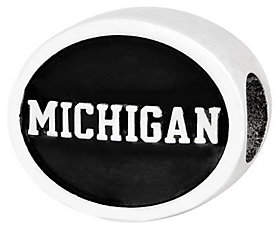 QVC Sterling Silver University of Michigan Bead
