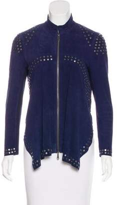 Rebecca Minkoff Leather Studded Jacket