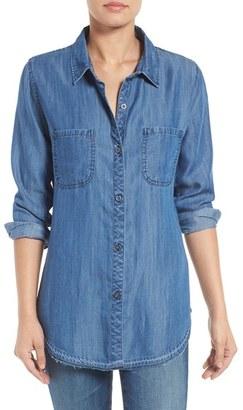 Women's Rails 'Carter' Chambray Shirt $148 thestylecure.com
