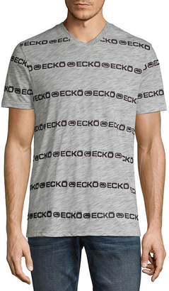 Ecko Unlimited Unltd Mens V Neck Short Sleeve T-Shirt