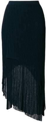 Christian Wijnants asymmetric shift skirt