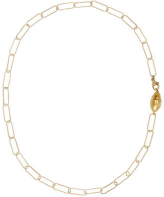 Alighieri Gold LIncognito Choker Necklace