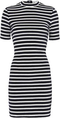T by Alexander Wang Stripe Velvet Dress $250 thestylecure.com