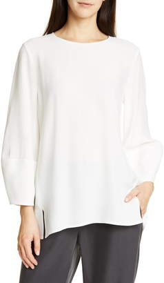 dfaf8989201 Eileen Fisher Silk Top - ShopStyle