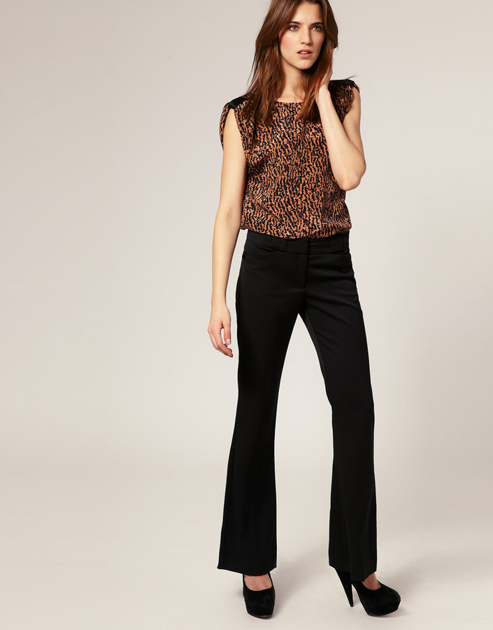 Warehouse Kick Flare Pants