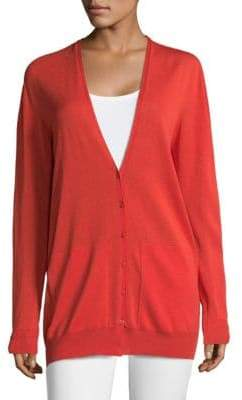 Escada Spheres V-Neck Cardigan