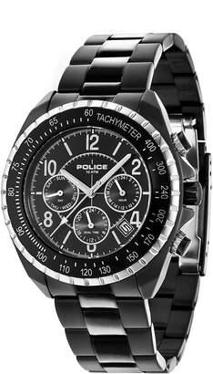 Police Men's Watch Chronograph XL Quartz Stainless Steel Bracelet PL. 14343JSBS/02 M
