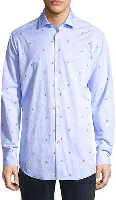 Etro Butterfly Print Shirt