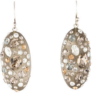 Alexis Bittar Alexis Bittar Crystal & Lucite Drop Earrings