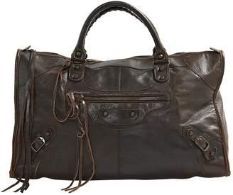 Balenciaga Work leather handbag