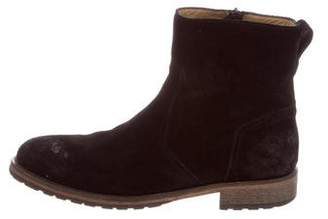 Belstaff Atwell Suede Ankle Boots