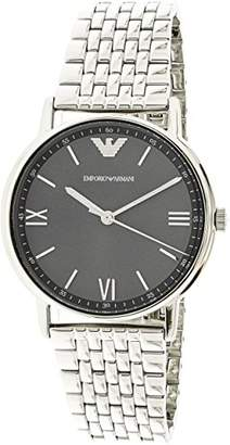 Emporio Armani Men's 'Dress Quartz Stainless Steel Casual Watch