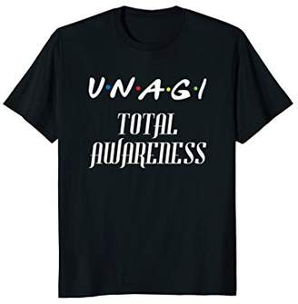 Unagi Total Awareness Funny Tshirt