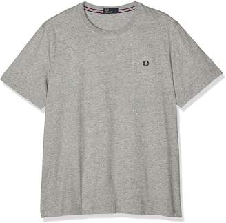 Fred Perry 100% Cotton Crew Neck Navy T-Shirt