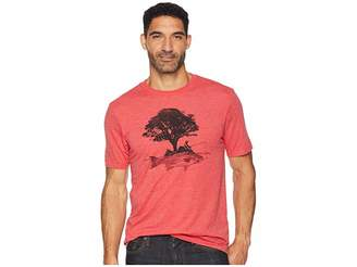 Life is Good Fish Tree Cool T-Shirt