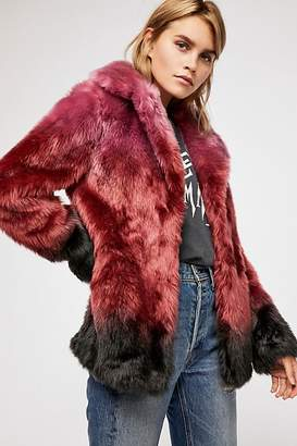 Unreal Fur Flaming Lips Coat