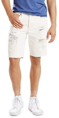 Levi's 511 Distressed Slim-Fit Cotton Shorts