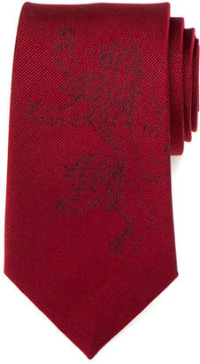 Cufflinks Inc. Game of Thrones Lannister Lion Sigil Silk Tie