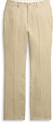 Ralph Lauren Straight Fit Linen Pant