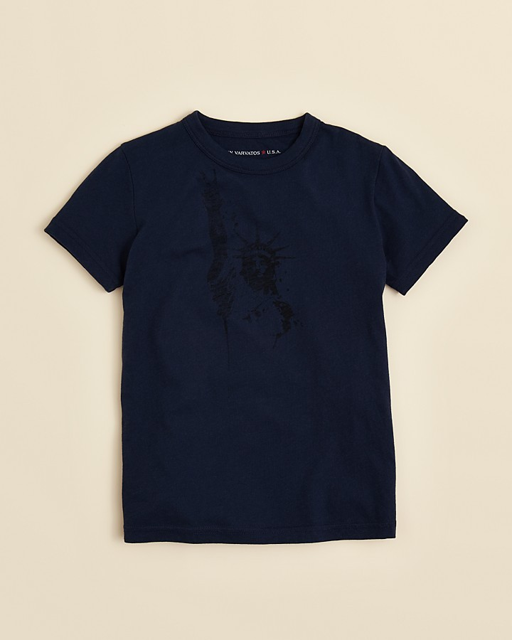 John Varvatos Boys' Liberty Print Tee - Sizes S-XL