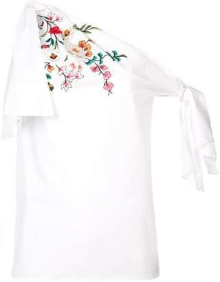 Carolina Herrera floral embellished blouse
