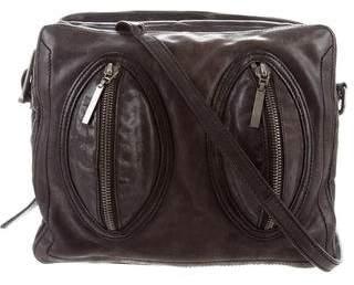 Helmut Lang Textured Leather Crossbosy Bag