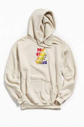 Urban Outfitters Just Weird Pullover Hoodie Sweatshirt