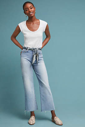 7 For All Mankind Alexa High-Rise Cropped Wide-Leg Jeans
