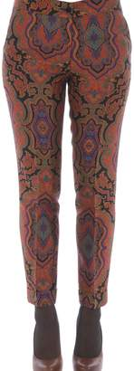 Etro Skinny Printed Trousers
