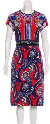 Mary Katrantzou Digital Print Sheath Dress