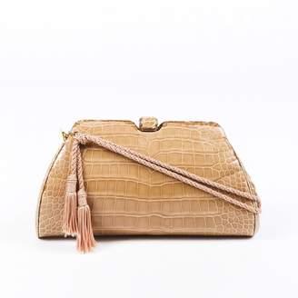 Judith Leiber Beige Exotic leathers Handbags