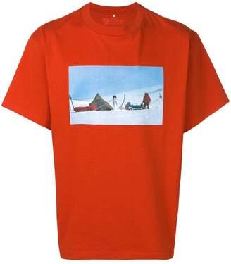 Acne Studios x Fjällräven print T-shirt