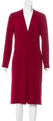 Joseph Long Sleeve Midi Dress w/ Tags