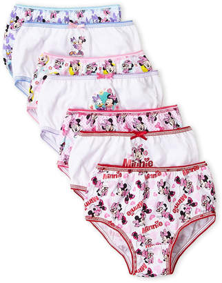 (Toddler Girls) 7-Pack Minnie Mouse Panties