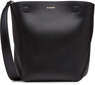 Jil Sander Small Tulip Leather Tote