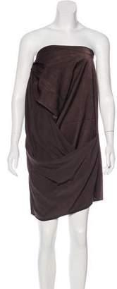 Acne Studios Draped Sleeveless Dress