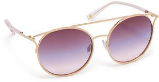 Henri Bendel Jade Round Sunglasses