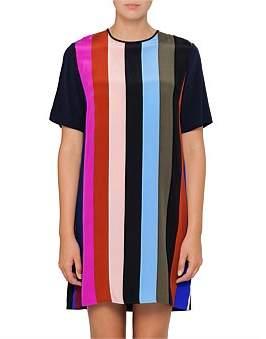 Diane von Furstenberg S/S Mini Fluid Dress