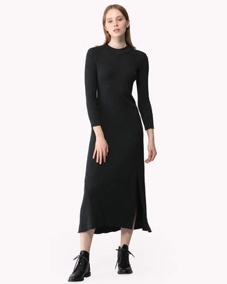 Theory (セオリー) - 【Theory】Sweater Rib Knit Rib Flounce Dress