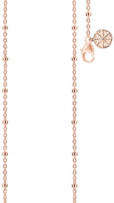 Thomas Sabo Karma Wheel 18ct rose gold-plated necklace