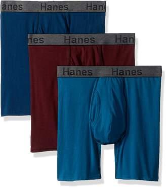 Hanes Men's 3-Pack Comfort Flex Fit Ultra Soft Stretch Boxer Brief