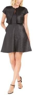 Natori N Maze Jacquard Dress