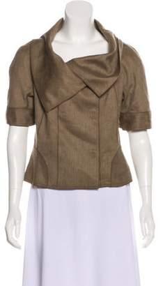 Magaschoni Casual Short Sleeve Blazer