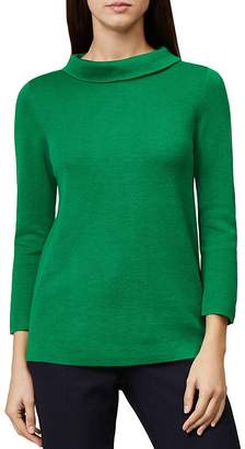 Hobbs London Anastasia Roll-Collar Sweater