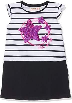 Desigual Girl's Vest_Túnez Dress,(Manufacturer Size: 9/10)