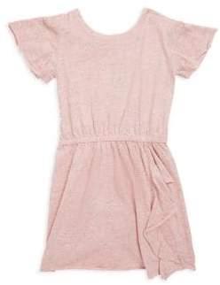 Splendid Girl's Melange Cotton Dress