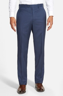 Men's Jb Britches 'Torino' Flat Front Wool Trousers $155 thestylecure.com